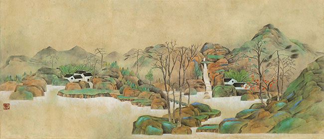 對當代中國畫主題性創作構圖的思考與分析